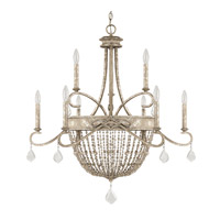 Capital Lighting Signature 9 Light Chandelier in Silver Quartz 4289SQ-000-PC