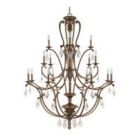 Capital Lighting Claybourne 16 Light Chandelier in Suede 4290SD-000-CR
