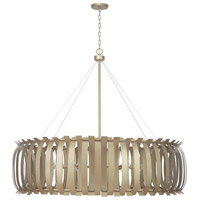 Cayden 12 Light 48 inch Aged Brass Painted Chandelier Ceiling Light