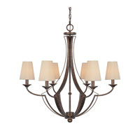 Capital Lighting Soho 6 Light Chandelier in Rustic 4336RT-523