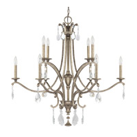 Capital Lighting Montclaire 10 Light Chandelier in Mystic 4390MY-000-CR