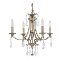 Capital Lighting Montclaire 4 Light Chandelier in Mystic 4394MY-000-CR