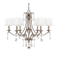 Capital Lighting Montclaire 6 Light Chandelier in Mystic 4395MY-608-CR