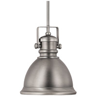 Signature 1 Light 9 inch Antique Nickel Pendant Ceiling Light