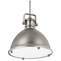 Signature 1 Light 13 inch Antique Nickel Pendant Ceiling Light