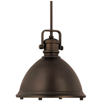 Signature 1 Light 13 inch Burnished Bronze Pendant Ceiling Light
