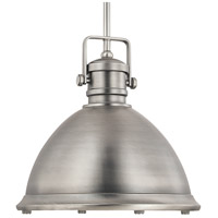 Capital Lighting Signature 1 Light Pendant in Antique Nickel 4433AN