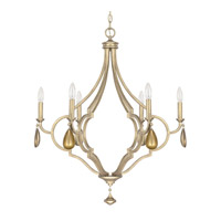 Capital Lighting Quinn 6 Light Chandelier in Brushed Gold 4456BG-000-CG