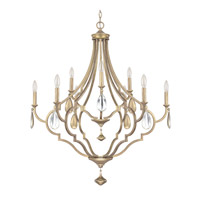 Capital Lighting Quinn 9 Light Chandelier in Brushed Gold 4459BG-000-CS