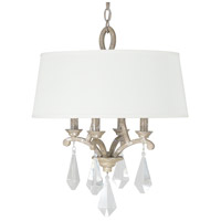 Capital Lighting Harlow 4 Light Pendant in Silver Quartz 4494SQ-569-CR