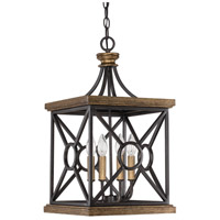 Capital Lighting 4501SY Landon 4 Light 12 inch Surrey Foyer Ceiling Light