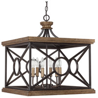 Capital Lighting Landon 6 Light Foyer Pendant in Surrey 4509SY
