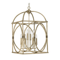 Capital Lighting Signature 8 Light Foyer Pendant in French Oak 4522FO