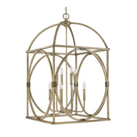 Capital Lighting Signature 8 Light Foyer Pendant in French Oak 4523FO
