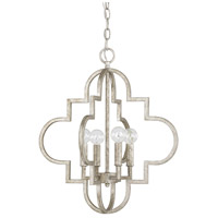 Capital Lighting 4541AS Ellis 4 Light 18 inch Antique Silver Pendant Ceiling Light