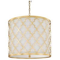 Ellis 5 Light 10 inch Capital Gold Pendant Ceiling Light