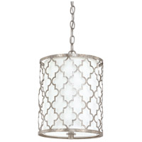 Ellis 2 Light 10 inch Antique Silver Mini-Pendant Ceiling Light