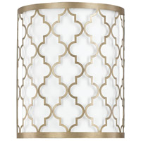 Ellis 2 Light 10 inch Brushed Gold Sconce Wall Light