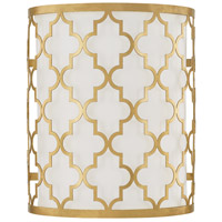 Ellis 2 Light 10 inch Capital Gold Sconce Wall Light
