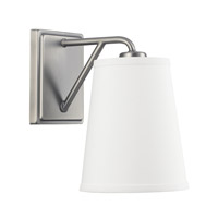 East Village 1 Light 7 inch Aged Nickel Sconce Wall Light