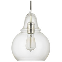 Capital Lighting Signature 1 Light Mini-Pendant in Polished Nickel 4644PN-143