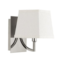 Capital Lighting Parker 1 Light Sconce in Polished Nickel 4651PN-604
