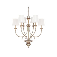 Capital Lighting Ansley 6 Light Chandelier in Sable 4666SA-558