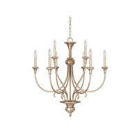 Capital Lighting Ansley 9 Light Chandelier in Sable 4669SA-000