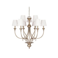 Capital Lighting Ansley 9 Light Chandelier in Sable 4669SA-558