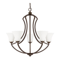 Capital Lighting Sydney 5 Light Chandelier in Burnished Bronze 4695BB-145