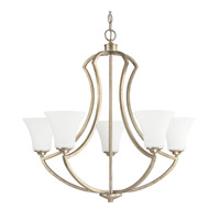 Capital Lighting Sydney 5 Light Chandelier in Winter Gold 4695WG-145