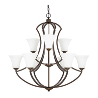 Capital Lighting Sydney 9 Light Chandelier in Burnished Bronze 4699BB-145