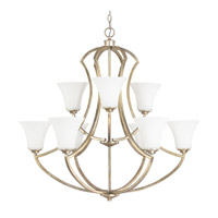 Capital Lighting Sydney 9 Light Chandelier in Winter Gold 4699WG-145