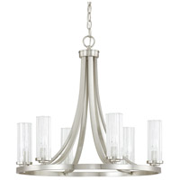 Emery 6 Light 23 inch Brushed Nickel Chandelier Ceiling Light