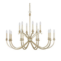 Alexander 16 Light 41 inch Winter Gold Chandelier Ceiling Light