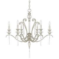 Capital Lighting 4786AS-000 Celine 6 Light 28 inch Antique Silver Chandelier Ceiling Light