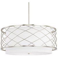 Sawyer 4 Light 28 inch Brushed Nickel Pendant Ceiling Light