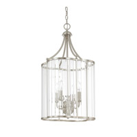 Capital Lighting Hamilton 4 Light Foyer in Brushed Nickel with Clear Glass 4848BN