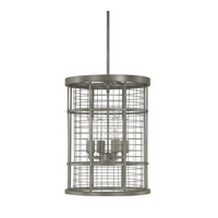 Capital Lighting Davis 4 Light Pendant in Graphite 4855GR