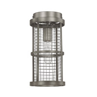 Capital Lighting Davis 1 Light Ceiling Flush in Graphite 4857GR