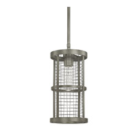 Capital Lighting Davis 1 Light Mini-Pendant in Graphite 4858GR