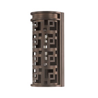 Capital Lighting Jasper 1 Light Sconce in Burnished Bronze 4871BB