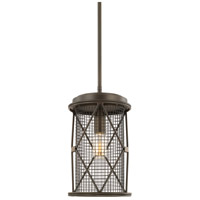 Jackson 1 Light 8 inch Oil Rubbed Bronze Mini Pendant Ceiling Light