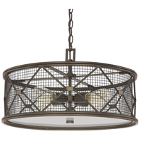Capital Lighting Jackson 4 Light Pendant in Oil Rubbed Bronze 4894OR