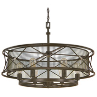 Jackson 6 Light 32 inch Oil Rubbed Bronze Pendant Ceiling Light