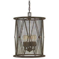Capital Lighting Jackson 4 Light Pendant in Oil Rubbed Bronze 4898OR