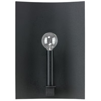 Capital Lighting Pearson 1 Light Sconce in Black Iron 4911BI