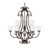 Capital Lighting Terrace 9 Light Chandelier in Burnished Bronze 4949BB-242