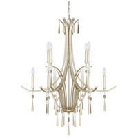 Berkeley 10 Light 33 inch Winter Gold Chandelier Ceiling Light