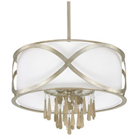 Berkeley 4 Light 22 inch Winter Gold Pendant Ceiling Light
